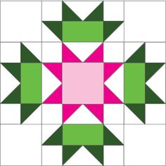 Free Ireland Quilt Block Pattern, definitely going to be gorgeous in any colors.