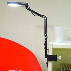 Toca Clamp Lamp Black