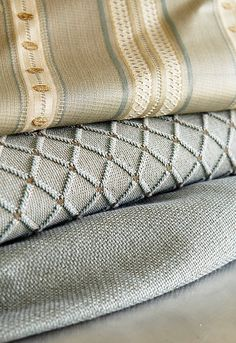 Schumacher - Luxurious Fabrics Grey Wallpaper, Print Wallpaper, Fabric Wallpaper, Kitchen Window Treatments, Grey And Gold, Gorgeous Fabrics, Home Textile, Decoration, Upholstery