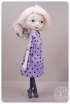 Violet Fairy Art Doll handmade by the Filigree by theFiligree, Celena & Martin, via Flickr