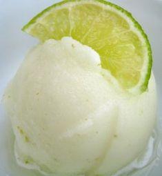 Sugar Free lime sorbet recipe