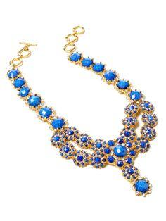 Amrita Singh, Crystal Shelter Sunrise Necklace.