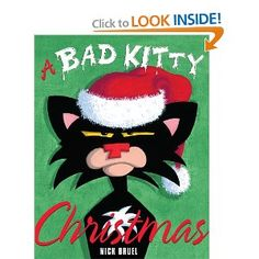 My new favorite Bad Kitty book!  I love these ABC books and this one has a good lesson!