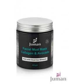 Maska na tvár s bahnom z Mŕtveho mora a kolagénom Dead Sea Minerals, Collagen, Mud, Facial, Beauty, Facial Treatment, Facial Care, Collages, Face Care