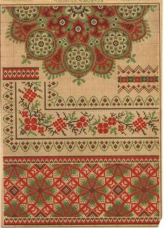 Cross Stitch Borders, Cross Stitching, Cross Stitch Embroidery, Embroidery Patterns, Hand Embroidery, Cross Stitch Patterns, Palestinian Embroidery, Classic Rugs, Loom Beading