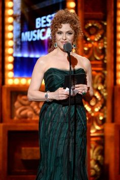 Actress Bernadette Peters onstage at The 67th Annual Tony Awards at Radio City Music Hall on June 9, 2013