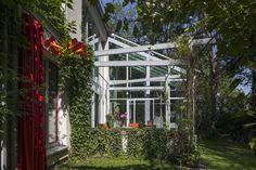 Winter Garden Glass Canopy - Free photo on Mavl- Winter Garden Glass Cano. Benefits Of Gardening, Organic Gardening, Shade Trees, Colorful Garden, Garden Chairs, Dream Garden, Garden Hose, Trees To Plant, Amazing Gardens