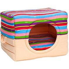 Casa para perros y gatos Toca Colors Beige mediano con cojín MyNico - Домики - Abrigos para Perros Diy Projects For Dog Lovers, Pet Rats, Pets, Diy Cat Tent, Sewing Piping, Puppy Room, Creative Inventions, Cat Room, Cat Condo
