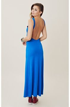 OPEN BACK MAXI. No sneakers...