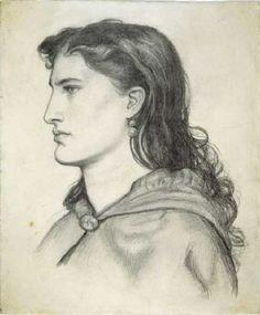 Aggie by Dante Gabriel Rossetti #art