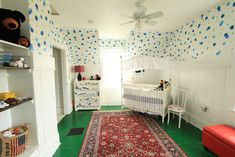 Eclectic and Colorful DIY Nursery - Project Nursery