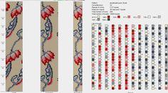 53 схемы вязания жгутов на 19-20 бисерин / Вязание с бисером / Biserok.org