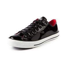 Gotta say, these are some pretty sharp looking shoes. Converse All Star Low Athletic Shoe in Black Patent Leather