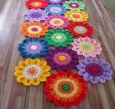 Flores de crochê: como fazer passo a passo e inspirações