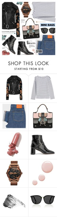 """""""Cool-Girl Style"""" by anyasdesigns ❤ liked on Polyvore featuring Junya Watanabe, rag & bone, PS Paul Smith, Giancarlo Petriglia, LAQA & Co., Miu Miu, Diesel, Topshop, Estelle & Thild and Victoria Beckham"""