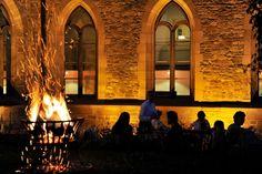 Romantic evening Kloster Hornbach