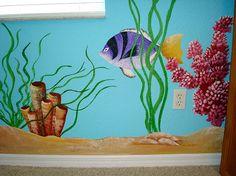 Underwater Mural by turtlepatrol, via Flickr