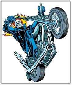 Marvel Comics Art, Marvel Heroes, Ms Marvel, Captain Marvel, Ghost Rider Tattoo, Arte Nerd, Mister Fantastic, Ghost Rider Marvel, Marvel Tattoos