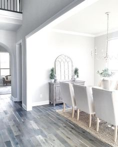 Gorgeous home tour. Incredibly elegant farmhouse style in this home, done with moderately priced home decor items from World Market, Target, Kirkland's, Ballard designs etc