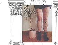 Corinthian column tattoo