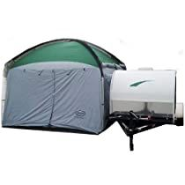Check this out at Amazon Trailer Tent, Pop Up Trailer, Camper Trailers, Camper Hacks, Vintage Camper Interior, Rain Fly, Camping And Hiking, Diy Camping
