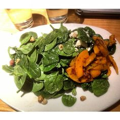 """@coldblankchris """"Baby spinach and butternut squash. I could live here."""""""