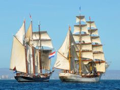 The Farewell of Tall Ships Picton Castle & Oosterschelde