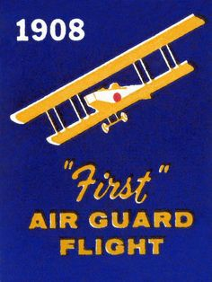 1908 First Air Guard Flight by Retrotravel