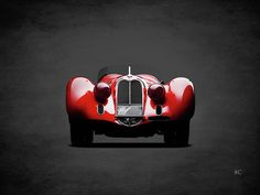 Alfa Romeo 8c Art Print by Mark Rogan. All prints are professionally printed, packaged, and shipped within 3 - 4 business days. Choose from multiple sizes and hundreds of frame and mat options.