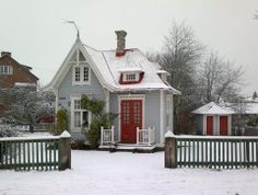 """The tiny """"Doll house"""" inTidaholm Sweden"""