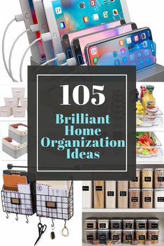 The best home organization ideas for every room in your house. Plus, where to get the best storage solutions. Linen Closet Organization, Home Office Organization, Paper Organization, Garage Bathroom, Bathroom Closet, Kids Wraps, Small Laundry Rooms, Family Organizer, Beautiful Interior Design