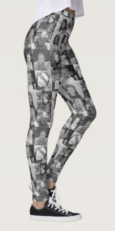 Shop Create Your Own Photo Collage - 16 photos Leggings created by MarshEnterprises. Personalize it with photos & text or purchase as is!