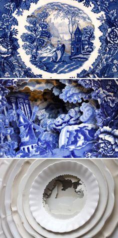 caroline slotte - layered ceramics (details) <3