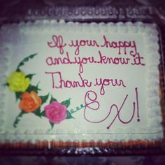 33 Funny Cakes Celebrating Your Divorce - Snappy Pixels