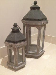 Lanterns small and medium