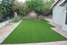 Mow no more once you go green with 93 OZ synthetic turf from ModernPaving.com