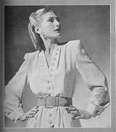 """Maurice Rentner, From Life Magazine """"American Designers"""" 1944"""