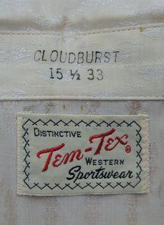 Tem-Tex Vintage Clothing Label