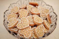Biscoito de baunilha decorado