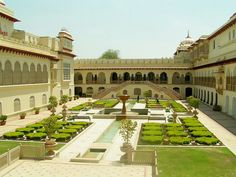 Ram bagh palace in Jaipur, Rājasthān