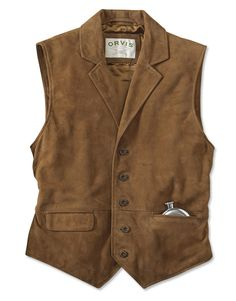 Just found this Suede Lapel Vest - CFO Sueded Lapel Vest -- Orvis on Orvis.com!