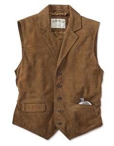 Just found this Suede Lapel Vest - CFO Sueded Lapel Vest -- Orvis on Orvis.com!