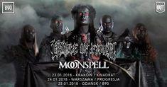 Galeria zdjęć z koncertu Cradle Of Filth w Krakowie-> http://www.heavymetalandmore.pl/2018/01/cradle-of-filth-w-krakowie-galeria.html