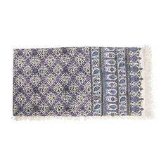 Persian Ghalamkari Tapestry Table Cloth Calico 150 × 150 cm #atarian #AsianOriental