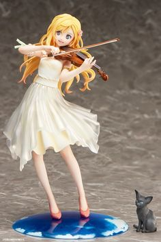 """Your Lie in April"" Kaori Miyazono Dress Version Figure"