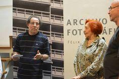 Inauguración de la exposición Archivo Fotográfico de Félix Molina. Caracas, 29/4/2015