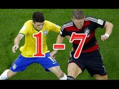 ▶ Brasilien vs Deutschland 1-7 Alle Tore & Highlights-Weltmeisterschaft Brasilien 2014 - YouTube