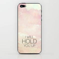 Isaiah 41:10  Comfort | Hope | Strength iPhone & iPod Skin by Pocket Fuel - $15.00