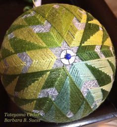 In our JTA study group, we are continuing to tackle the inspiring patterns set out for us as a new curriculum for studying temari. A questio...