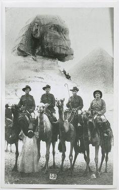 I guerra, soldados Australianos en Egipto.